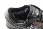Reebok Classic Dark Navy Leather (с мехом)