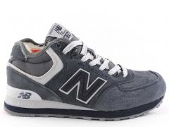 New Balance 574 Mid D19 Grey (с мехом)