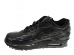 Nike Air Max 90 All Black (с мехом)