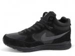 Nike Air Rivah Black (с мехом)