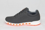 Ecco Cool Grey/Orange (натур. мех)