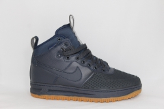 Nike Lunar Force 1 Duckboot Navy (натур. мех)