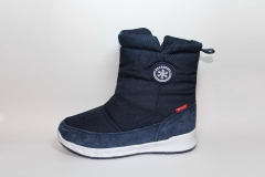 Дутики Baas Boots Dark Blue (натур. мех)