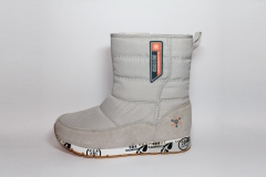 Дутики Baas Boots Snow Light Grey (натур. мех)