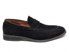Loro Piana Loafer City Walk Black Suede