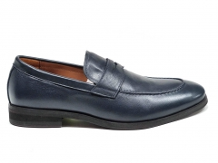Loro Piana Loafer City Walk Navy Leather