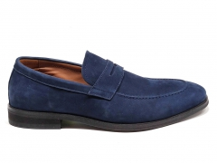 Loro Piana Loafer City Walk Navy Suede
