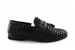Лоферы Rasht Loafers Black/RST10