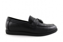 Лоферы Rasht Loafers Black Leather/M2