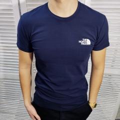 Мужская футболка The North Face - тёмно-синий (MF006)