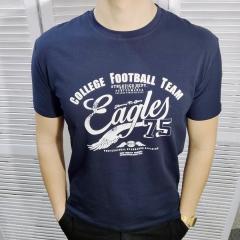 Мужская футболка - тёмно-синий (MF014)
