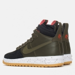 Nike Lunar Force 1 Duckboot Black/Dark Loden