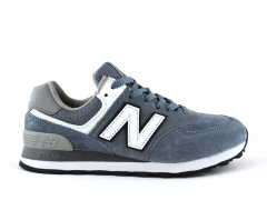 New Balance 574 Stone/White/Suede