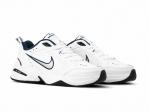 Nike Air Monarch White/Metallic Silver