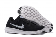 Nike Free Run 5.0 Flyknit Black/White