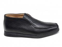 Loro Piana Open Walk Black Leather