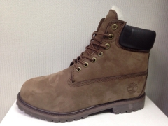 Timberland 6-INCH chocolate (натур. мех)