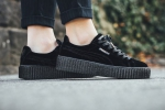 Puma Creepers by Rihanna Velvet Black