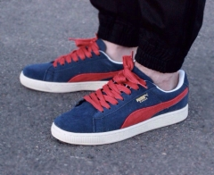 Puma Suede Blue/Red