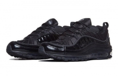 "Nike Air Max 98 x Supreme ""Black"""