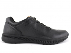 Ecco Biom All Black Leather